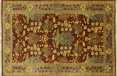 William Morris Oriental Hand Knotted Rug