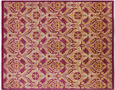 Oriental Suzani William Morris Design Area Rug