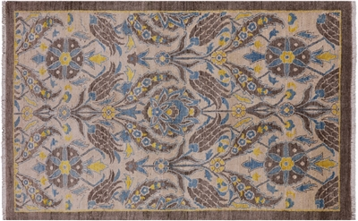 William Morris Design Oriental Wool Rug