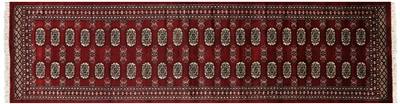 Runner Silky Bokhara Hand Knotted Rug
