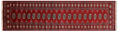 Oriental Silky Bokhara Hand Knotted Rug