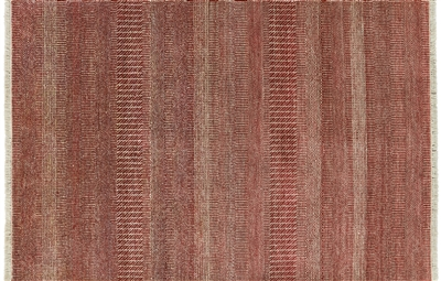 Hand Knotted Wool & Silk Savannah Gabbeh Area Rug