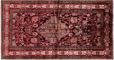 New Oriental Authentic Persian Nahavand Hand Knotted Area Rug