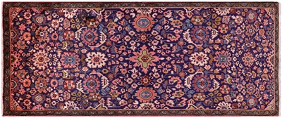 Persian Sarouk Hand Knotted Area Rug