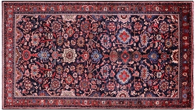 New Hand Knotted Persian Mahal Area Rug
