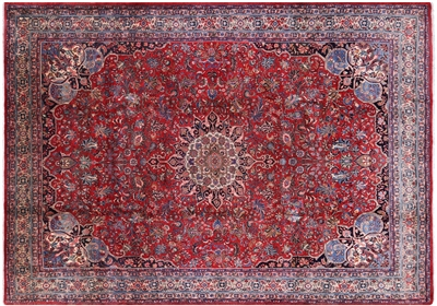 Antique Excellent Condition Persian Bijar Iron Rug