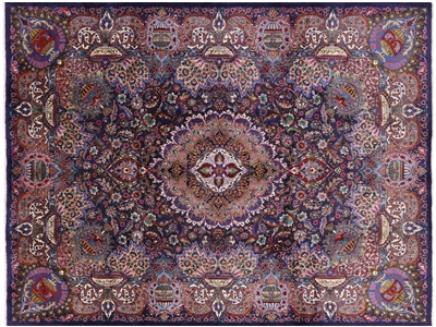 Oriental Hand Knotted Persian Kashmar Area Rug