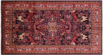 New Full Pile Persian Nahavand Rug