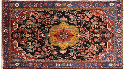 New Persian Nahavand Hand Knotted Area Rug