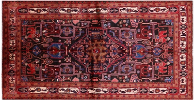 New Authentic Persian Nahavand Wool Rug