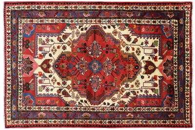 New Authentic Persian Hamadan Wool Rug