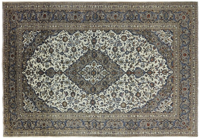 New Authentic Persian Kashan Handmade Rug