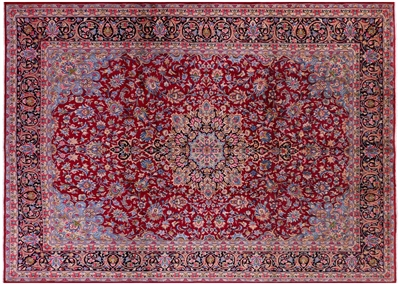 New Authentic Persian Kerman Full Pile Rug