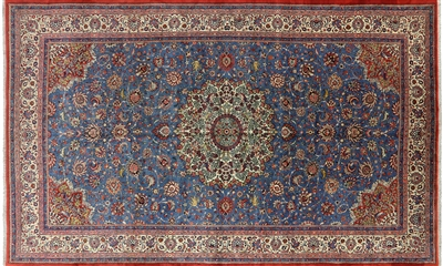 New Persian Sarouk Wool Area Rug