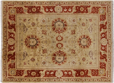 Hand Knotted Peshawar Oriental Rug