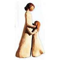 Willow Tree Mother & Daughter Family Figurine (Retired)