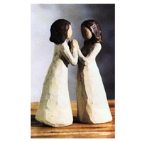 Willow Tree Sisters By Heart Family Figurine