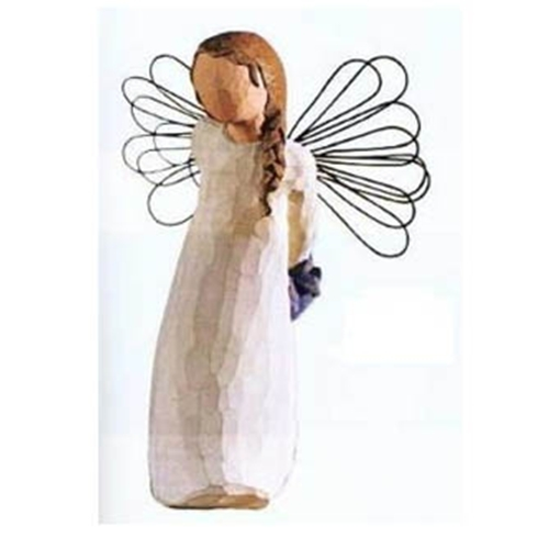 willow tree thank you angel figurine retired. Black Bedroom Furniture Sets. Home Design Ideas