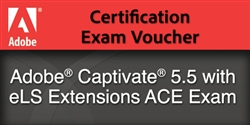 Adobe Captivate 5.5 with eLS Extensions Exam Voucher