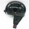 Daymak MAX 400 - Half face helmet - Solid Black (XL)