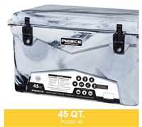 PIERCE 45 QUART COOLER