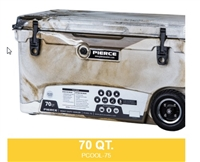 PIERCE 70 QUART WHEELED COOLER