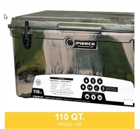 PIERCE 110 QUART COOLER