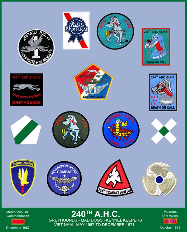 240th Assault Helicopter Company 2012 Reunion Presentation Color Poster