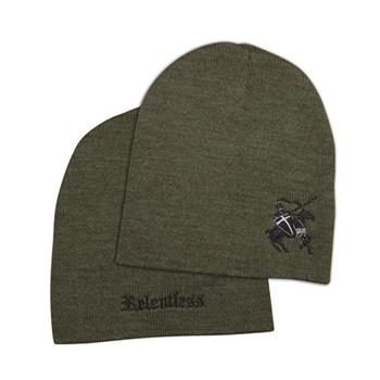 Relentless Beanie; Army Green