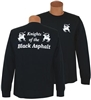 Knights of the Black Asphalt; Long Sleeve; Black