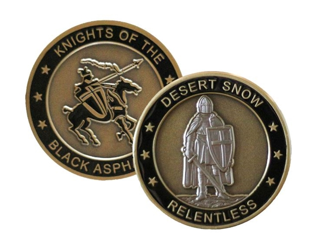 """Relentless"" Challenge Coin"