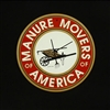 "Manure Movers 12"" Aluminum Sign"