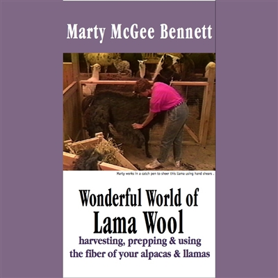 McGee Bennett DVD. The Wonderful World of Llama & Alpaca Wool