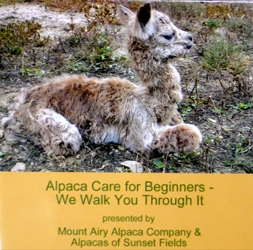 Alpaca Care for Beginners DVD