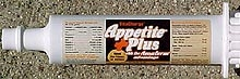 Vita Charge - Appetite Plus 80 gram and 300 gram Tube