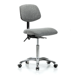 Perch Chrome Laboratory Chair