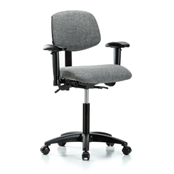 Perch Multi-Task Office Chair Adjustable Armrests