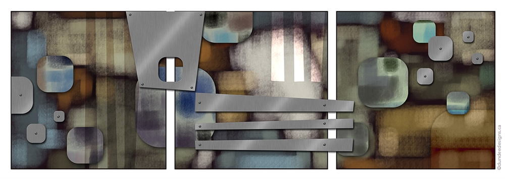 Graphic Abstract B - Set of 3