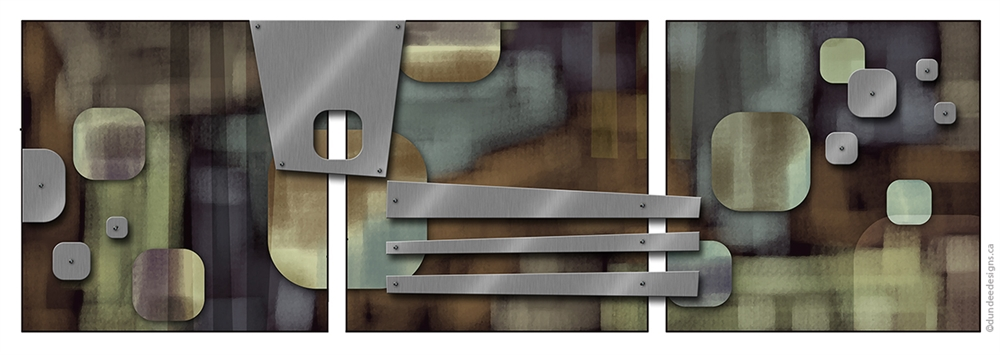 Graphic Abstract C - Set of 3