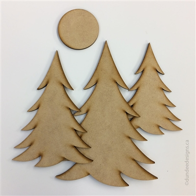 Pine Trees A