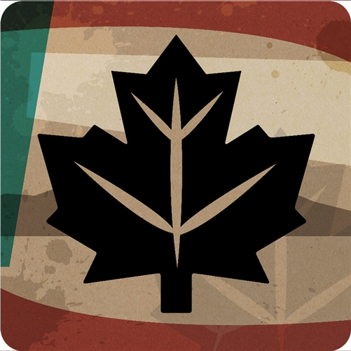 Maple Leaf Coaster