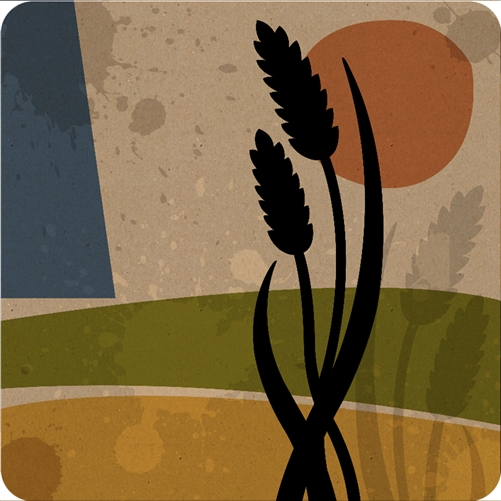 Wheat Coaster