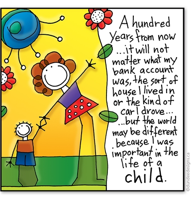 A hundred years from now...