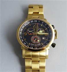 Gold culinary chef watch quartz from Morpheus
