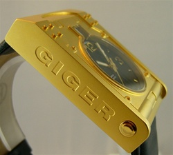 Giger Passagen Watch Gold from Morpheus