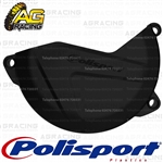 Polisport Black Clutch Cover Protector For Kawasaki KX 450F 2013-2015 Motocross Enduro