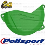 Polisport Green 05 Clutch Cover Protector For Kawasaki KX 450F 2013-2015 Motocross Enduro