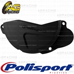 Polisport Black Clutch Cover Protector For Honda CRF 250R 2013-2016 Motocross Enduro
