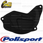 Polisport Black Clutch Cover Protector For Honda CRF 450R 2010-2016 Motocross Enduro