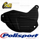 Polisport Black Clutch Cover Protector For Suzuki RMZ 250 2007-2018 Motocross Enduro